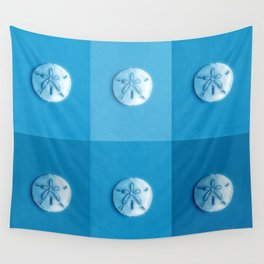 Sand Dollars - multiblues! Wall Tapestry