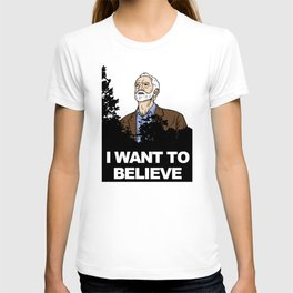 Corbyn I Want To Believe T-shirt