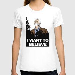 Corbyn I Want To Believe T-shirt