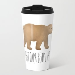 Best Papa Bear Ever Travel Mug