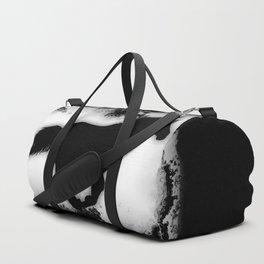 Western-look Galloping Horse Silhouette Duffle Bag