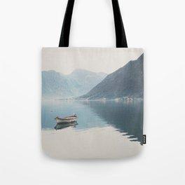 boat reflections ... Tote Bag