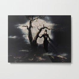Spooky Halloween Metal Print