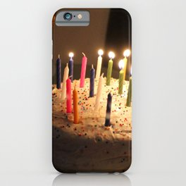 Lighting The Candles iPhone Case