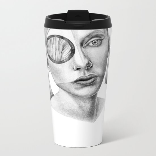 Grazia! Metal Travel Mug