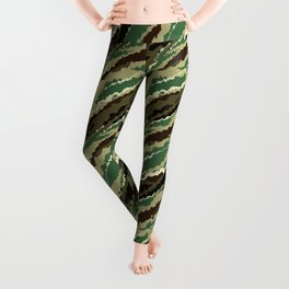 Abstract camouflage pattern. 2 Leggings