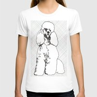 poodle T-shirts featuring My Poodle by Mike van der Hoorn
