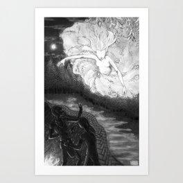 The Corn Legend Art Print