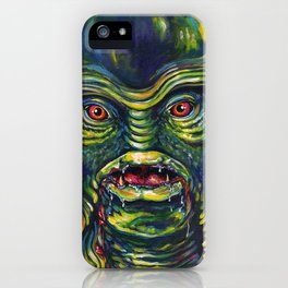 Creature From The Black Lagoon iPhone Case