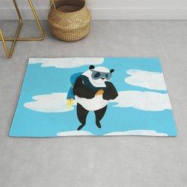 Jetpack Panda Rug
