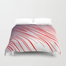 wild cute zebra lines Duvet Cover