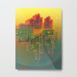 Station / Spatial Factor 19-12-16 Metal Print