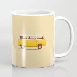 Van - Yellow Coffee Mug