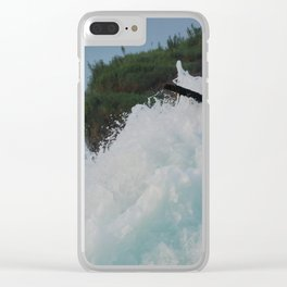 Isle Of Shivers Clear iPhone Case