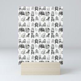 HAVE A SEAT! Mini Art Print