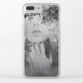 Soul - surreal dreamy portrait, woman nature photo, spiritual portrait Clear iPhone Case