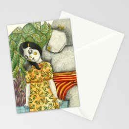 Unuasal Couples Stationery Cards