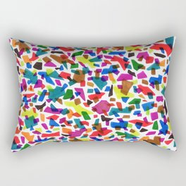 Terrazzo Confetti Rectangular Pillow