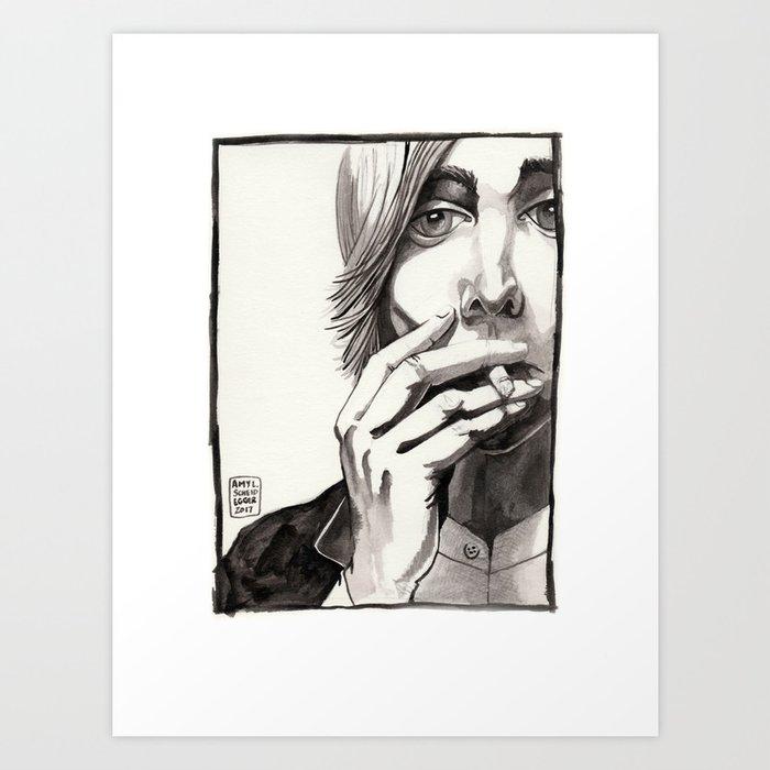 RIP Tom Art Print
