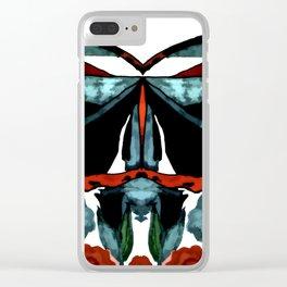 Butterfly Waltz Clear iPhone Case