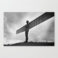 Angel of the North, Newcastle, England. Canvas Print