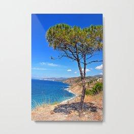 Alberquillas Beach Costa Del Sol Spain Metal Print