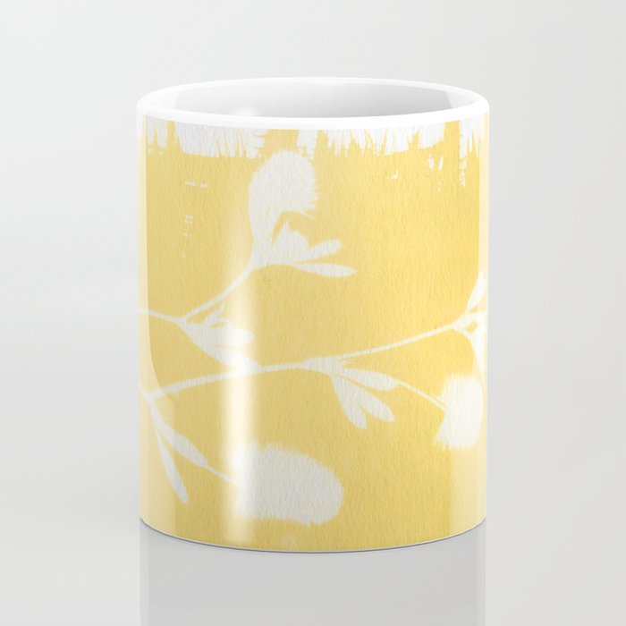 Herbal Sunprint #6 Coffee Mug