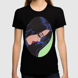 Pop Art Sad Girl T-shirt