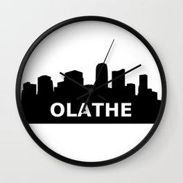 Olathe Skyline Wall Clock