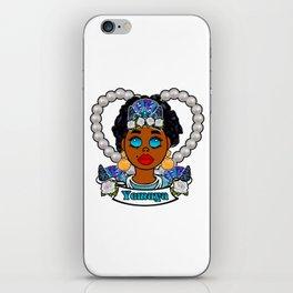 Yemaya Yemoja Lemanja Goddess iPhone Skin