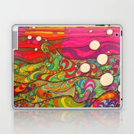 Psychedelic Art Laptop & iPad Skin