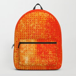 Abstract Oranje Backpack