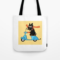 Scottie and Scooter Tote Bag