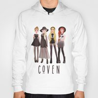 coven Hoodies featuring Coven by archibaldart