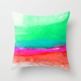 Illusions Of Bliss 1J by Kathy Morton Stanion Throw Pillow