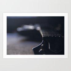 Les Paul 3 Art Print