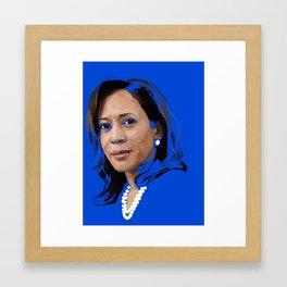 Senator Kamala Harris Framed Art Print