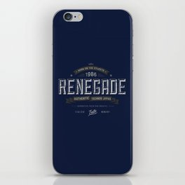 Renegade iPhone Skin