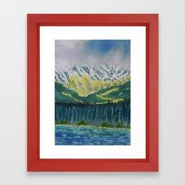 Juneau Landscape Framed Art Print
