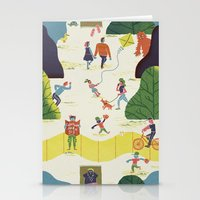 central park Stationery Cards featuring Central Park by Brian Michael Gossett