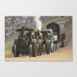 Traction Trio Canvas Print