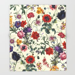 Secret Garden IV Throw Blanket