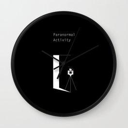 Paranormal Activity Wall Clock