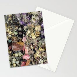 Gems collection 3 Stationery Cards