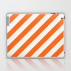 diagonal - orange Laptop & iPad Skin