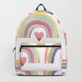 Rainbows & Hearts Backpack