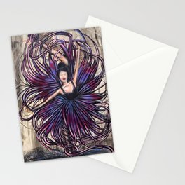 Tentacle Dancer Stationery Cards
