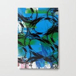 Blue Magoo Metal Print