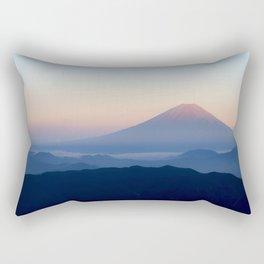 Sunrise on Fuji Rectangular Pillow