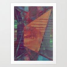 disquiet eighteen (forbidden colors) Art Print